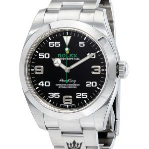 Rolex Air King Replica 116900 Silver Strap 40MM