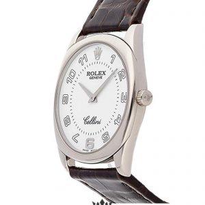 Rolex Cellini Replica 4233/9 001 Black Strap 33MM