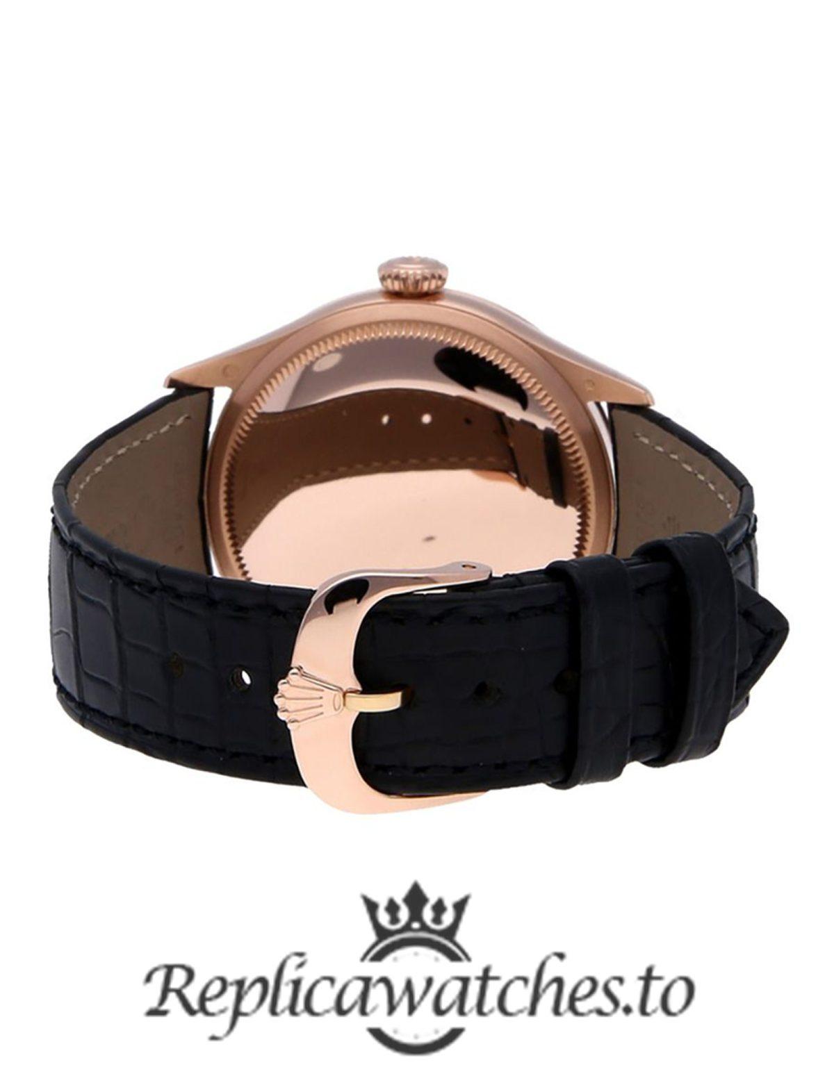 Rolex Cellini Replica 50505 Black Strap 39MM
