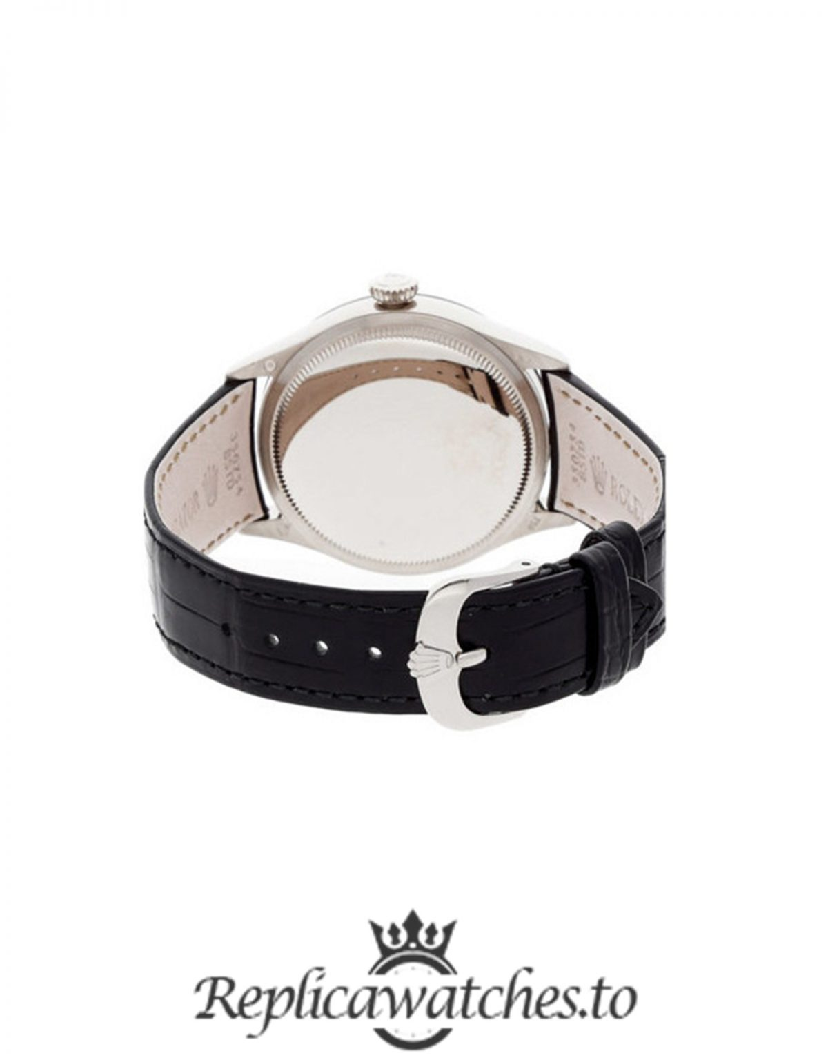 Rolex Cellini Replica 50509 001 Black Strap 39MM