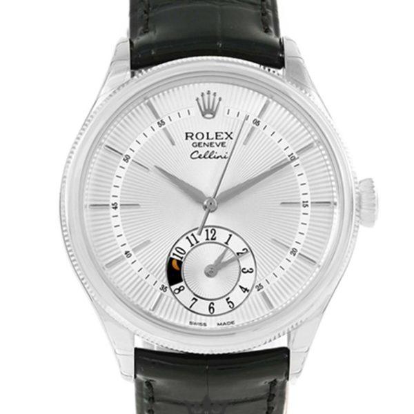 Rolex Cellini Replica 50519 Black Strap 39MM