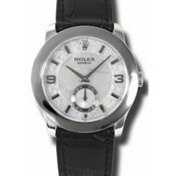 Rolex Cellini Replica 5240/6 Black Strap 35MM