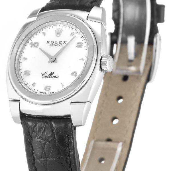 Rolex Cellini Replica 5310 Black Strap 25MM