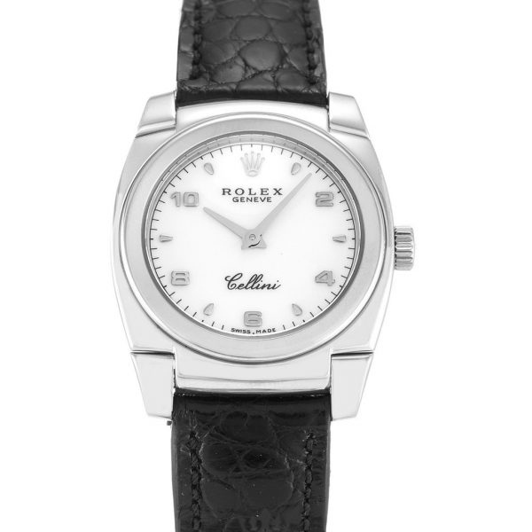 Rolex Cellini Replica 5310 Black Strap 25MM