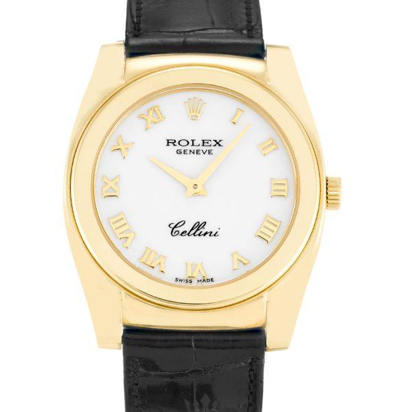 Rolex Cellini Replica 5320/8 Black Strap 32MM