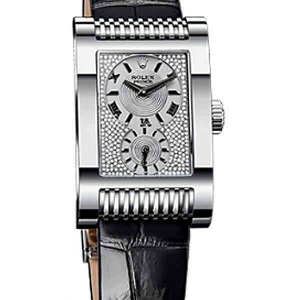 Rolex Cellini Replica 54419 Black Strap 45MM×29MM