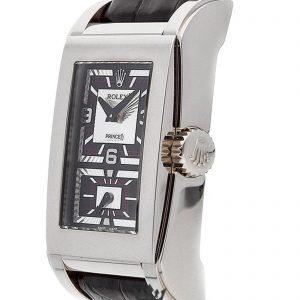 Rolex Cellini Replica 54439 Black Strap 47MM×28MM