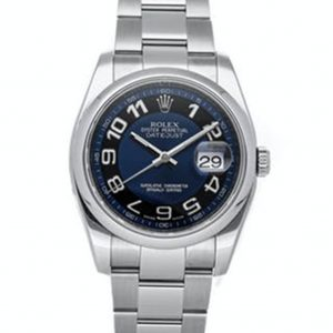 Rolex Datejust Replica 116200 003 Black/Blue Dial 36MM