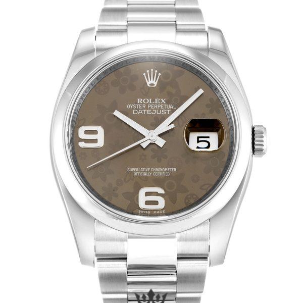 Rolex Datejust Replica 116200 004 Silver Strap 36MM