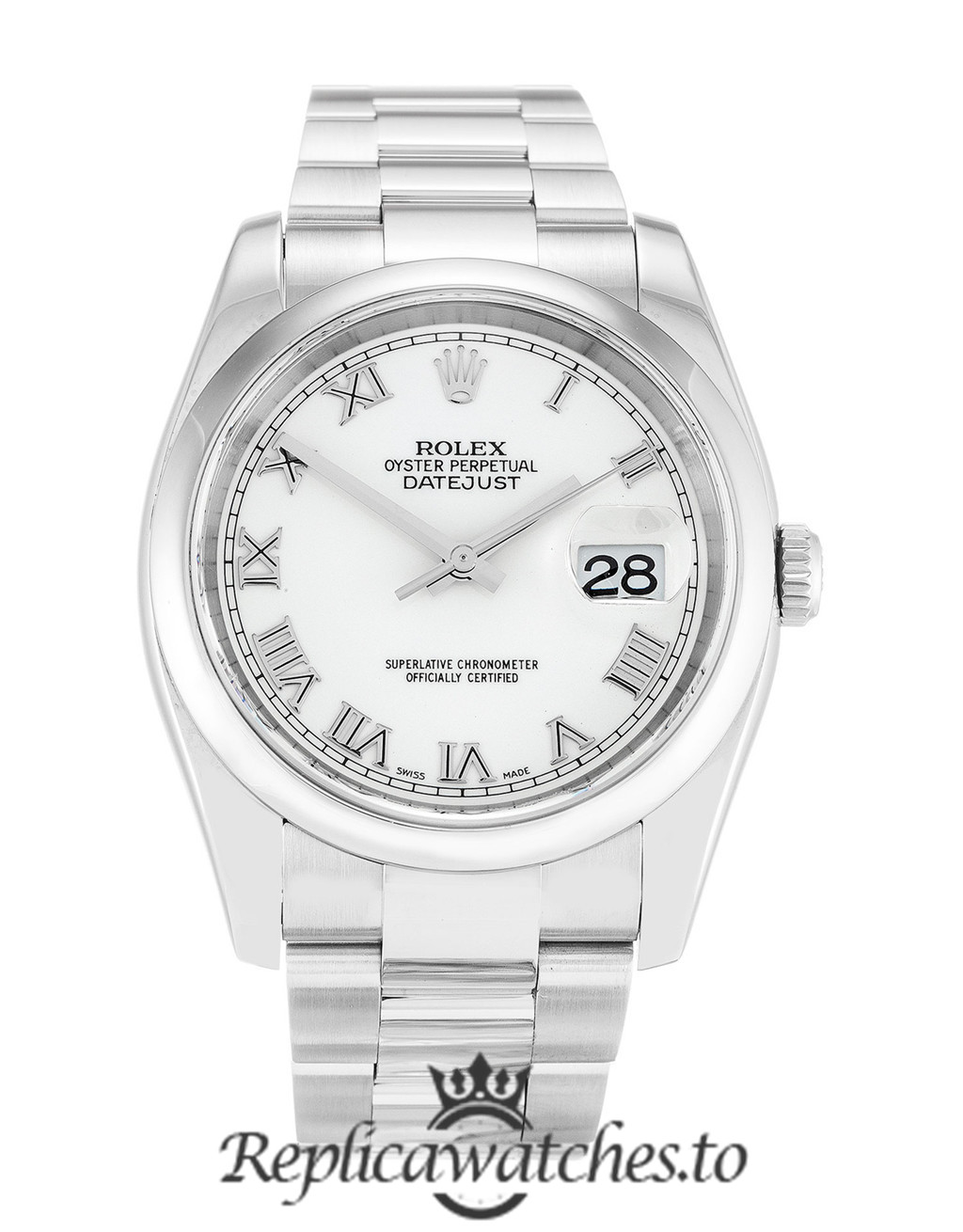 Rolex Datejust Replica 116200 006 Stainless Steel Strap 36MM