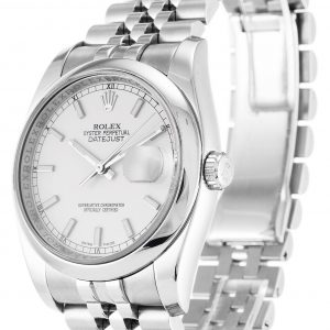 Rolex Datejust Replica 116200 007 Silver Strap 36MM
