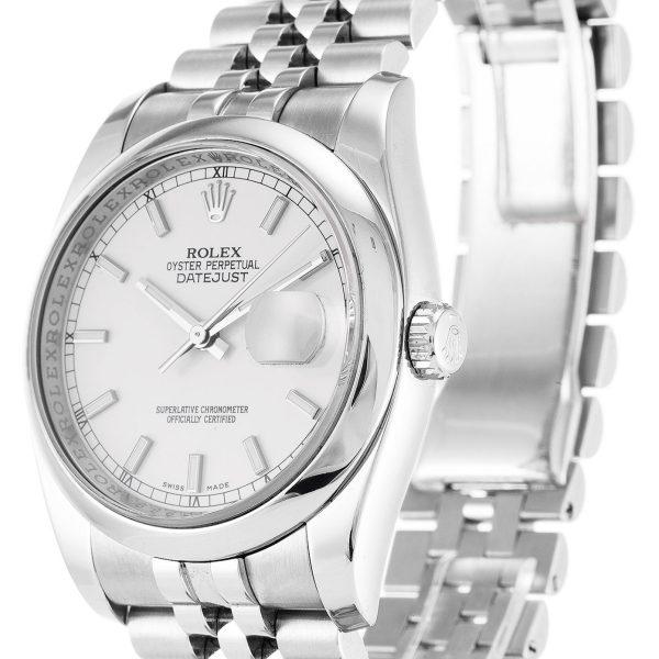 Rolex Datejust Replica 116200 007 Silver Strap 36MM