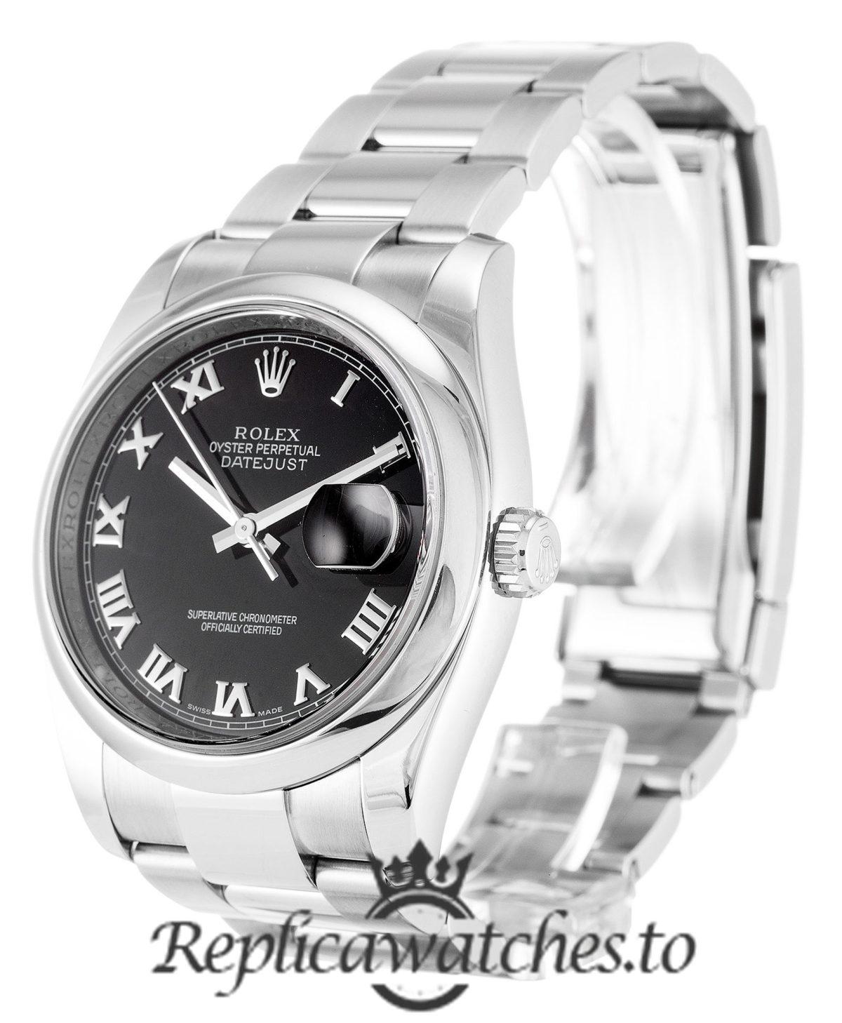 Rolex Datejust Replica 116200 Silver Strap 36MM