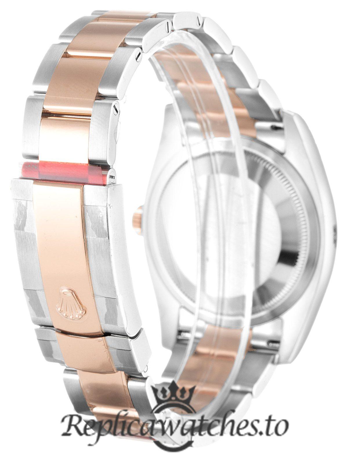 Rolex Datejust Replica 116201 Rose Gold Bezel 36MM