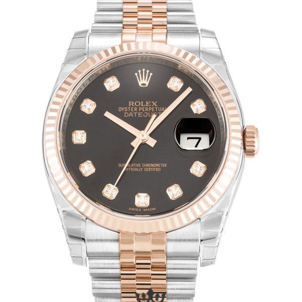 Rolex Datejust Replica 116231 002 Rose Gold 36MM