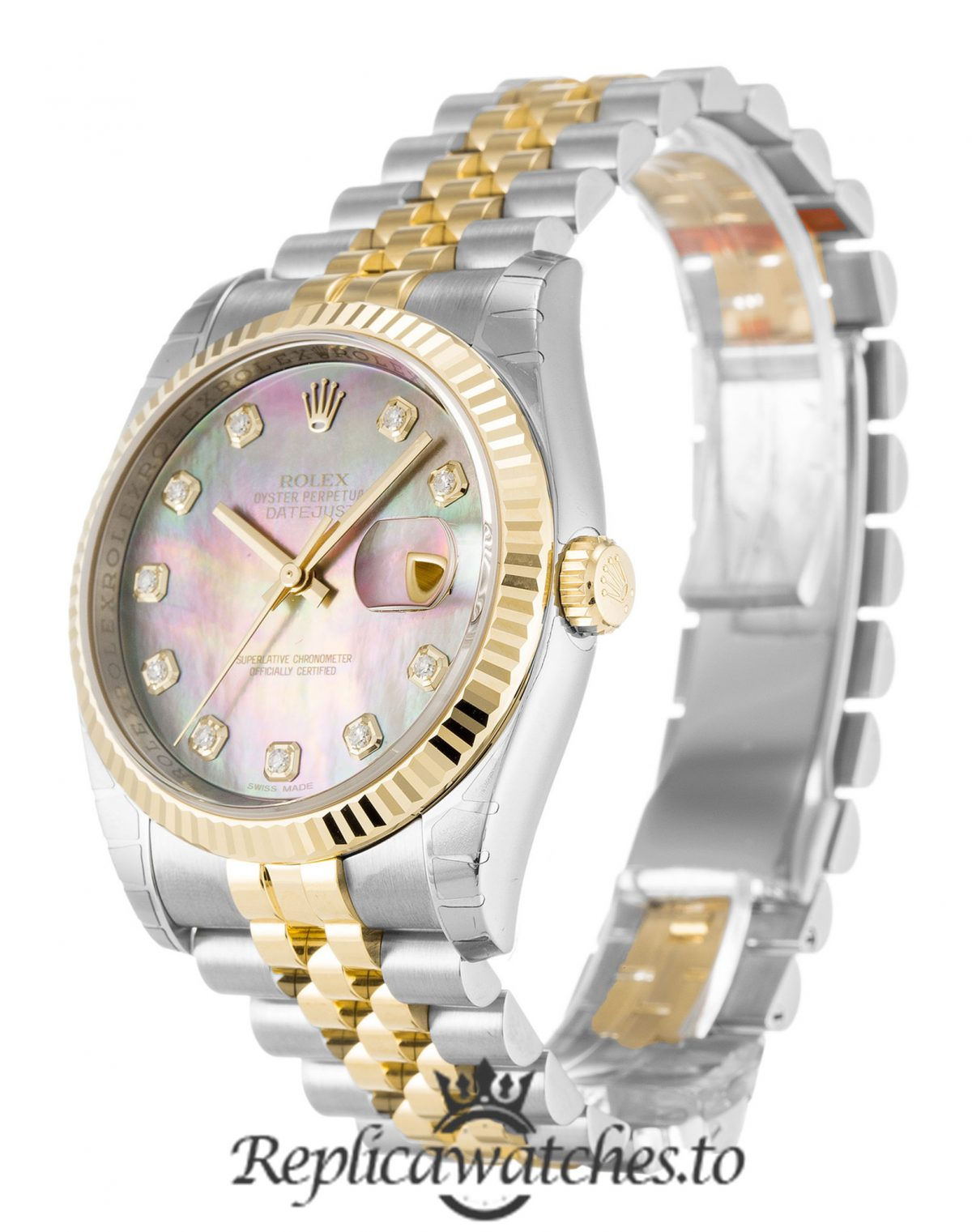 Rolex Datejust Replica 116233 001 Mother of Pearl Dial 36MM