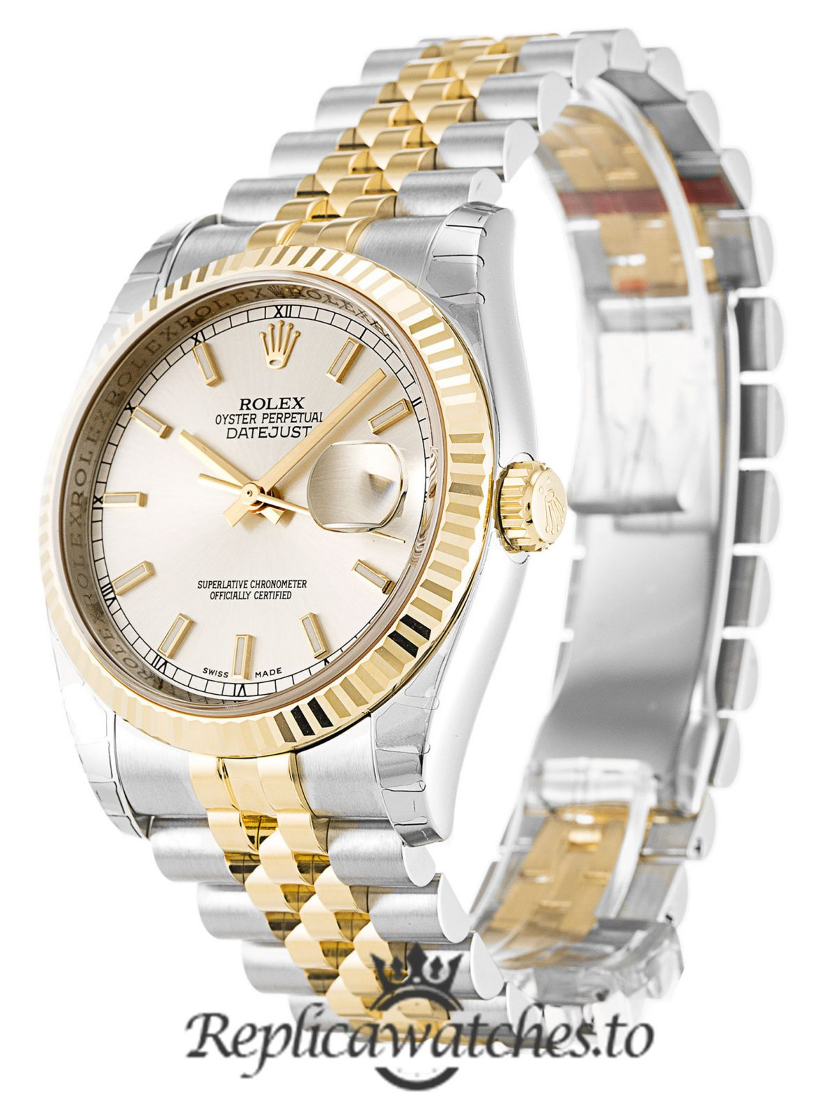 Rolex Datejust Replica 116233 003 Silver Dial 36MM
