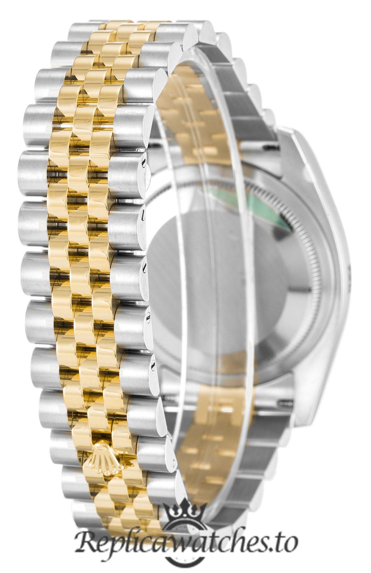 Rolex Datejust Replica 116233 Gold Bezel 36MM