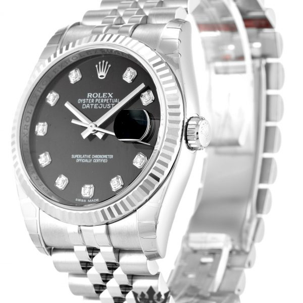 Rolex Datejust Replica 116234 001 Silver Strap 36MM