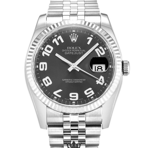 Rolex Datejust Replica 116234 002 Silver Strap 36MM