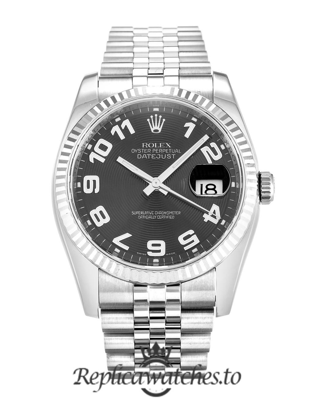 Rolex Datejust Replica 116234 002 Silver Strap 36MM