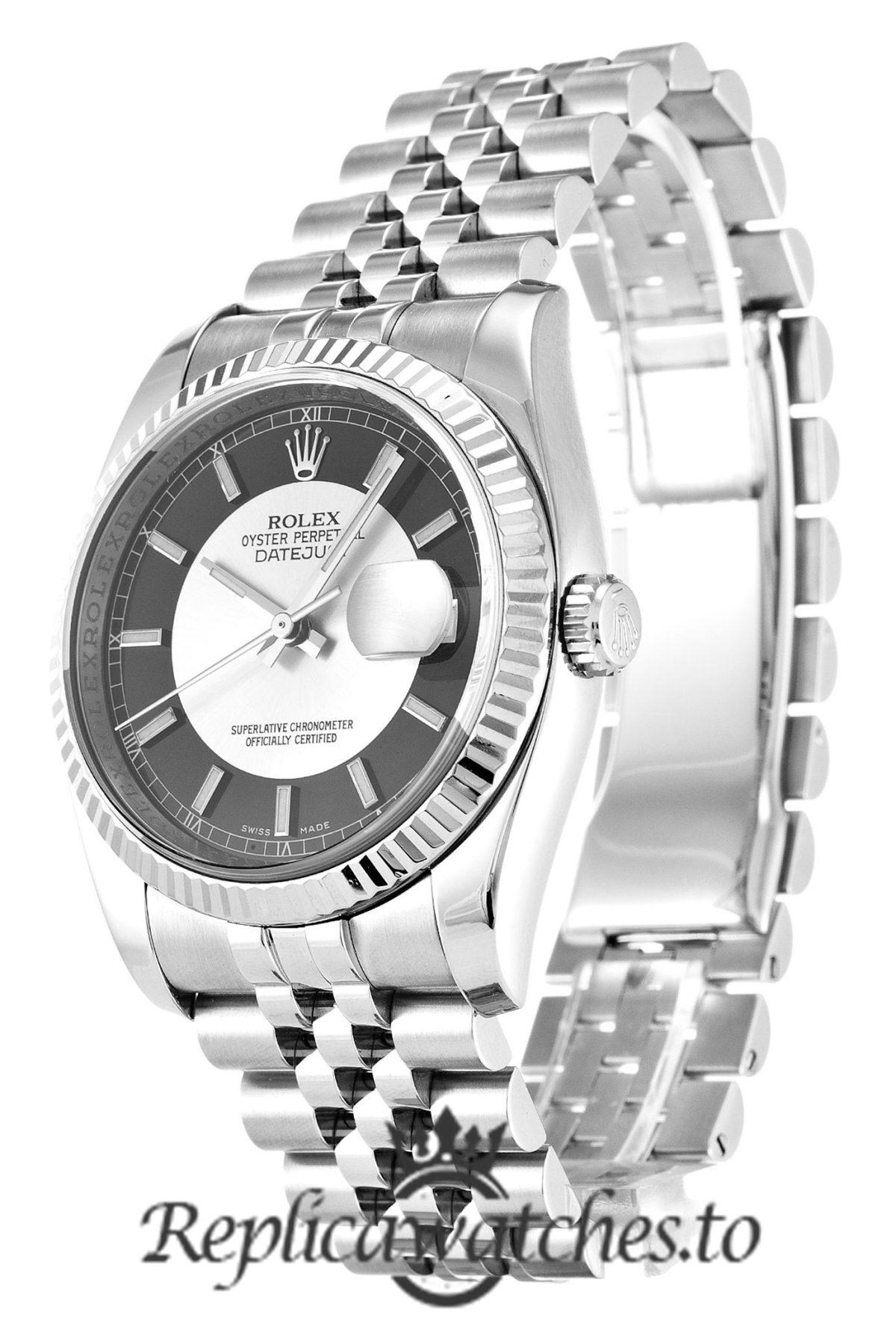 Rolex Datejust Replica 116234 003 Black Dial 36MM