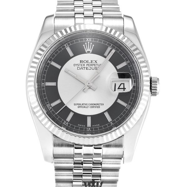 Rolex Datejust Replica 116234 003 Black Dial 36MM
