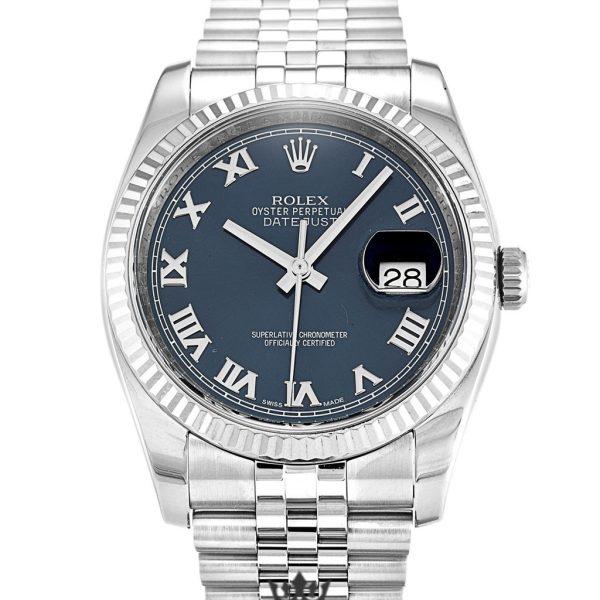 Rolex Datejust Replica 116234 005 Silver Strap 36MM