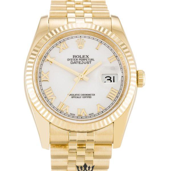 Rolex Datejust Replica 116238 Yellow Gold Strap 36MM