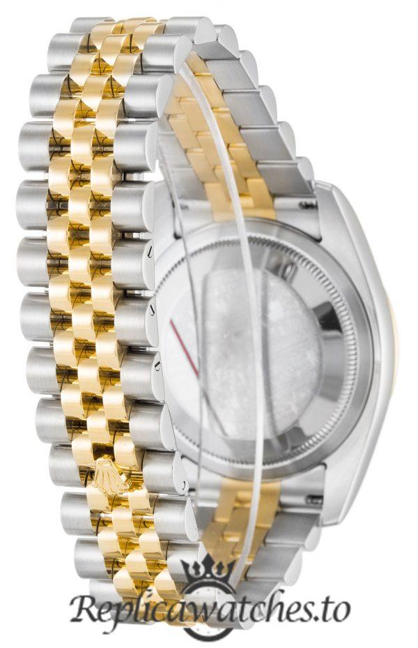 Rolex Datejust Replica 116263 002 Yellow Gold Bezel 36MM