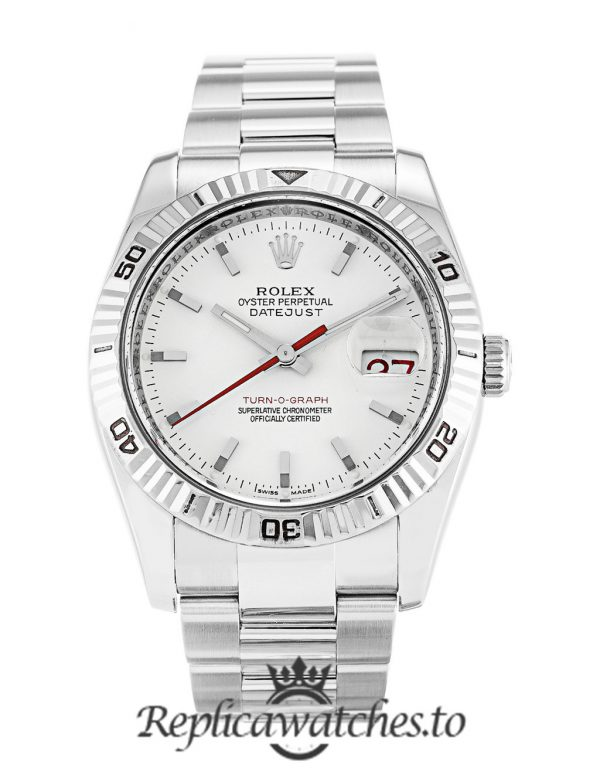 Rolex Datejust Replica 116264 003 Silver Strap 36MM