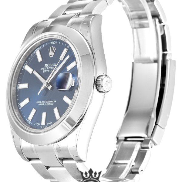 Rolex Datejust Replica 116300 001 Silver Bezel 41MM