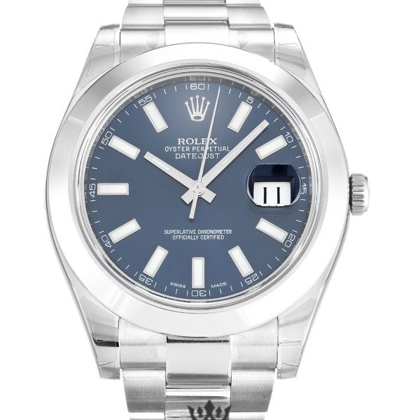 Rolex Datejust Replica 116300 001 Silver Bezel 41MM