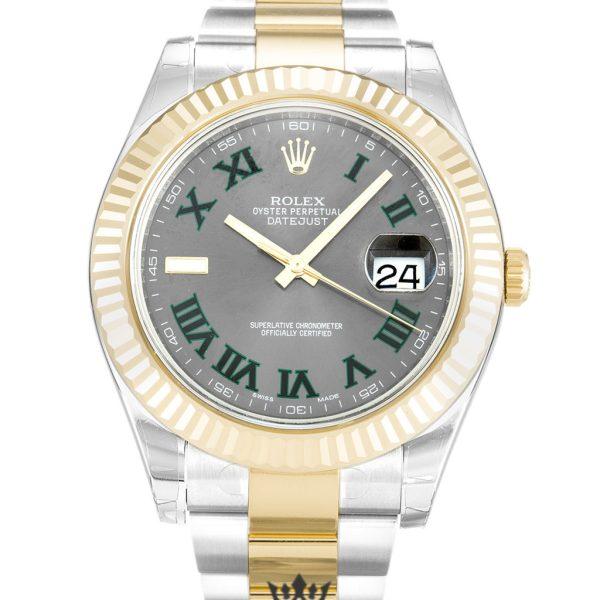 Rolex Datejust Replica 116333 Yellow Gold Bezel 41MM