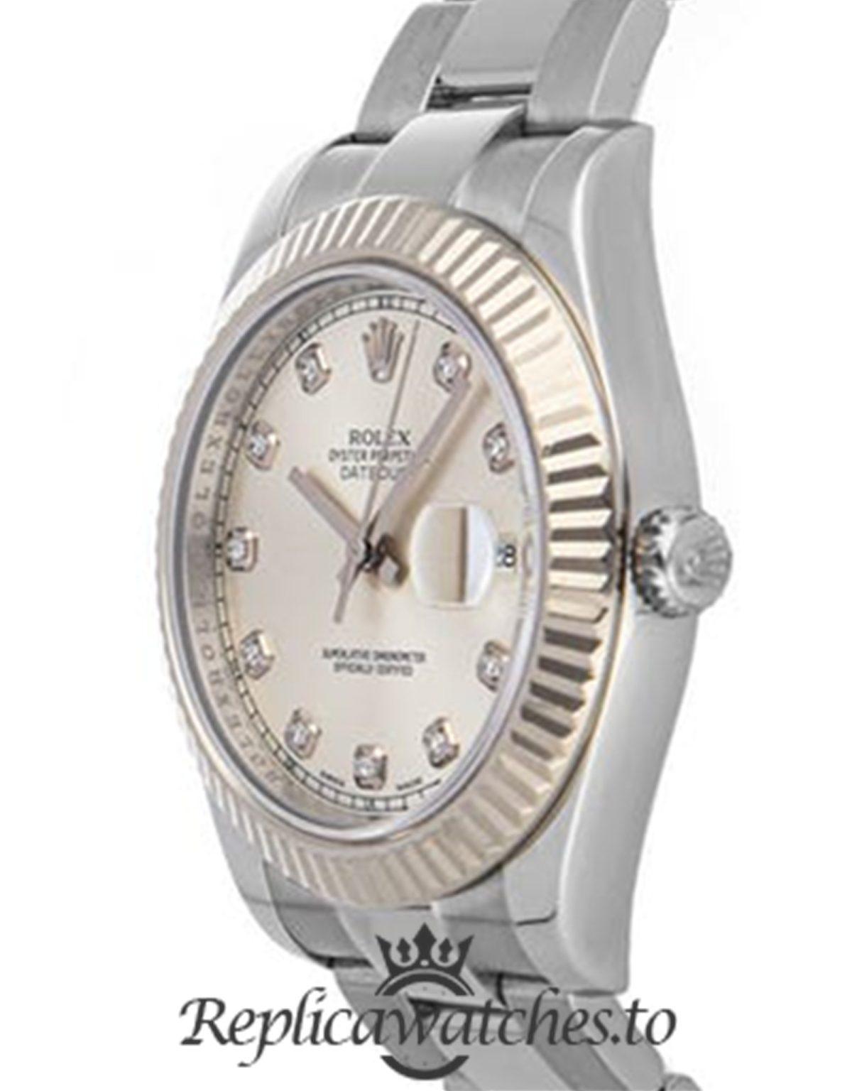 Rolex Datejust Replica 116334 001 Silver Strap 41MM