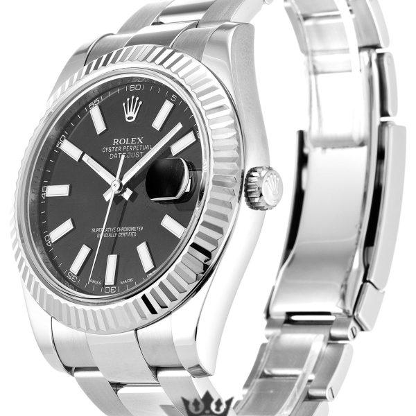 Rolex Datejust Replica 116334 Black Dial 41MM