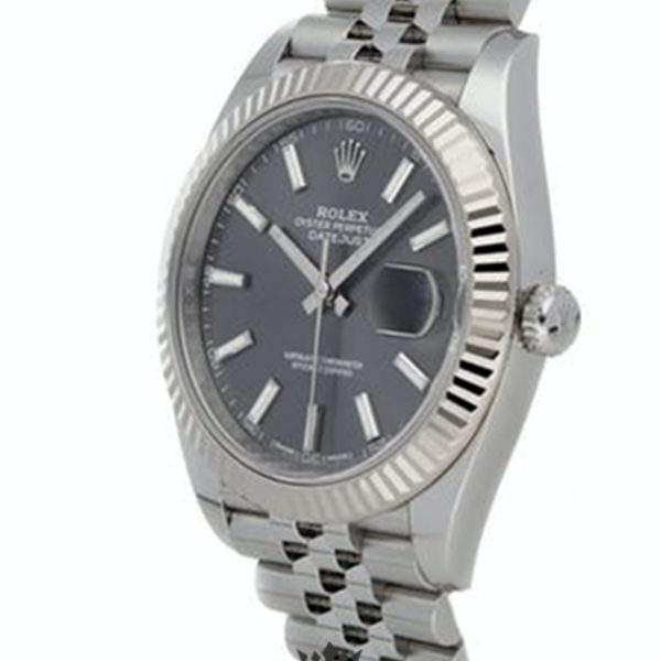 Rolex Datejust Replica 126334 Stick Markers Dial 41MM