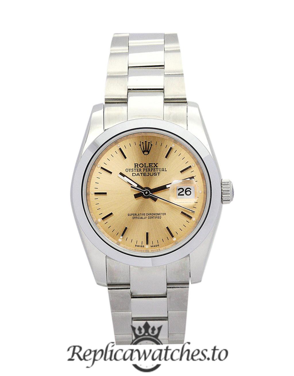 Rolex Datejust Replica 16013 001 Silver Strap 36MM