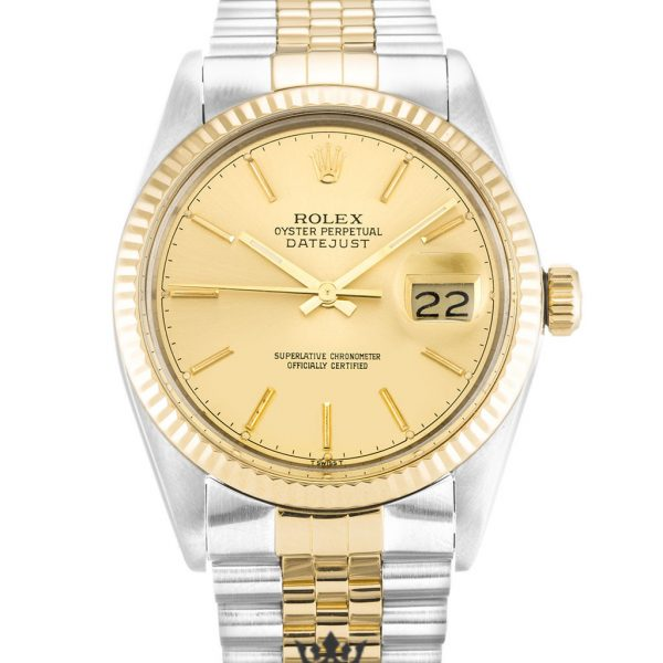 Rolex Datejust Replica 16013 Champagne Dial 36MM