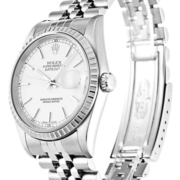 Rolex Datejust Replica 16220 001 Silver Strap 36MM