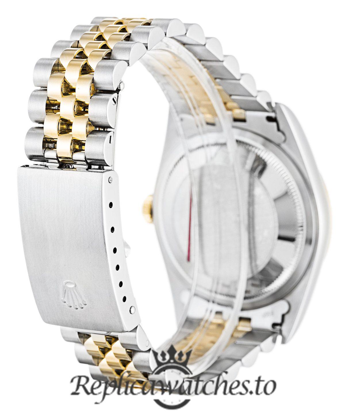 Rolex Datejust Replica 16233 003 Yellow Gold Bezel 36MM