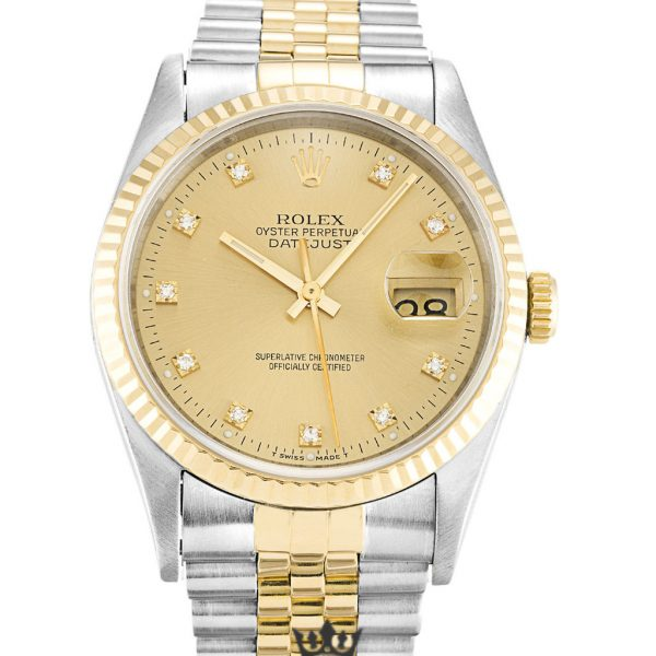 Rolex Datejust Replica 16233 Champagne Dial 36MM
