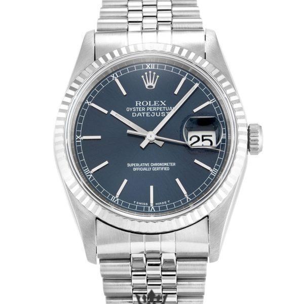 Rolex Datejust Replica 16234 Blue Dial 36MM