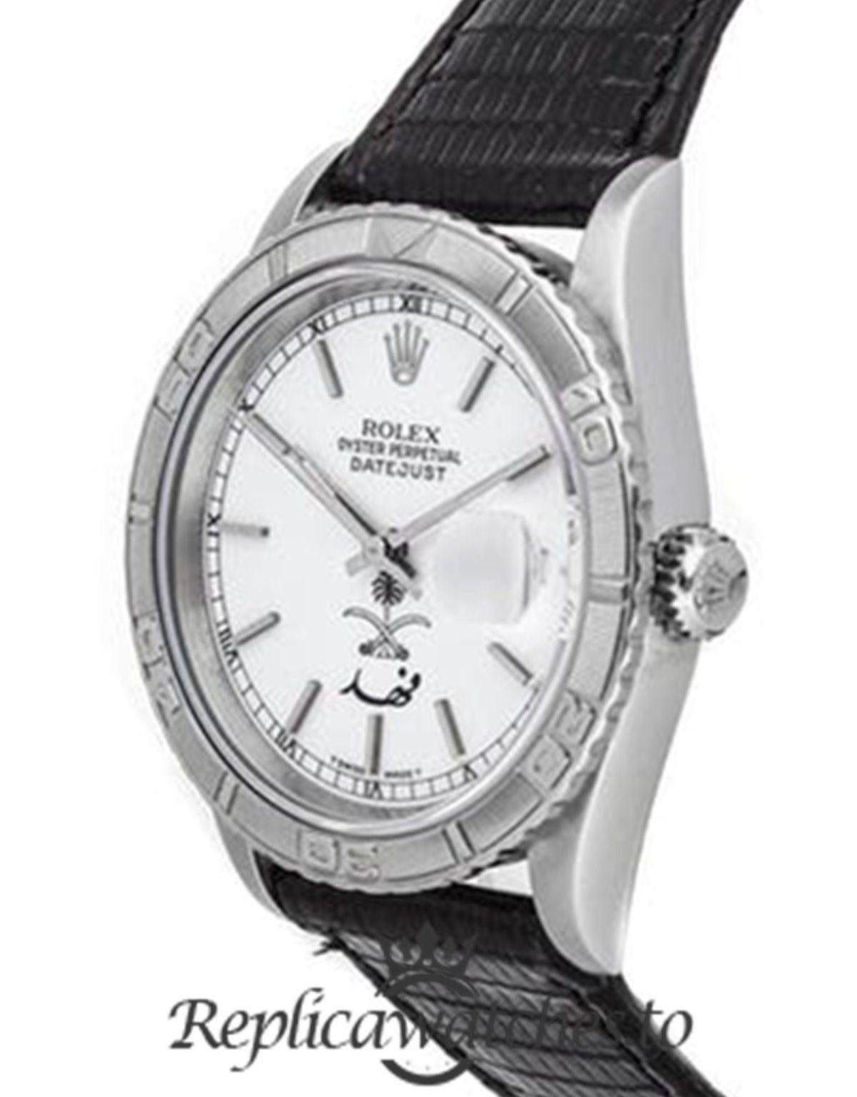 Rolex Datejust Replica 16264 Black Strap 36MM