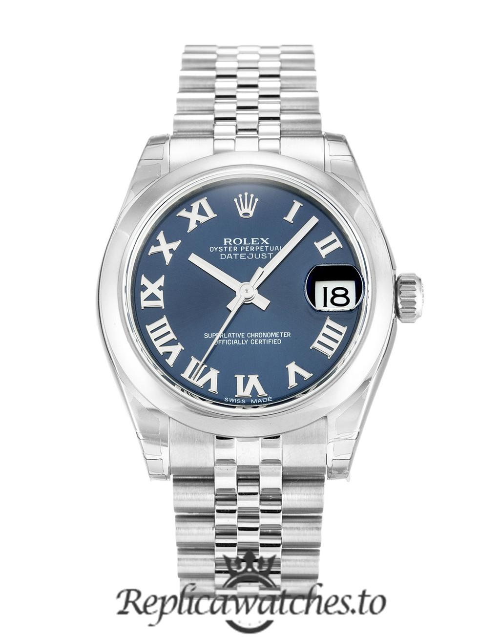 Rolex Datejust Replica 178240 002 Silver Bezel 30MM