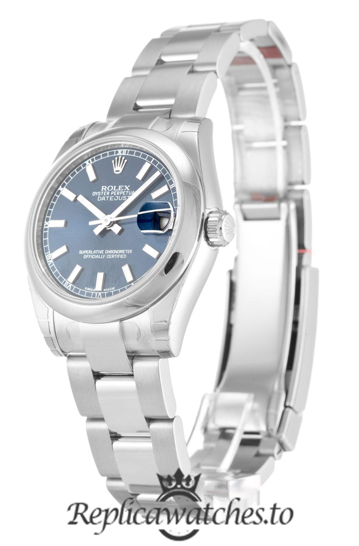 Rolex Datejust Replica 178240 004 Silver Bezel 31MM