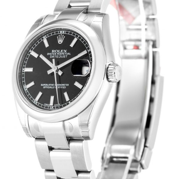 Rolex Datejust Replica 178240 Black Dial 31MM