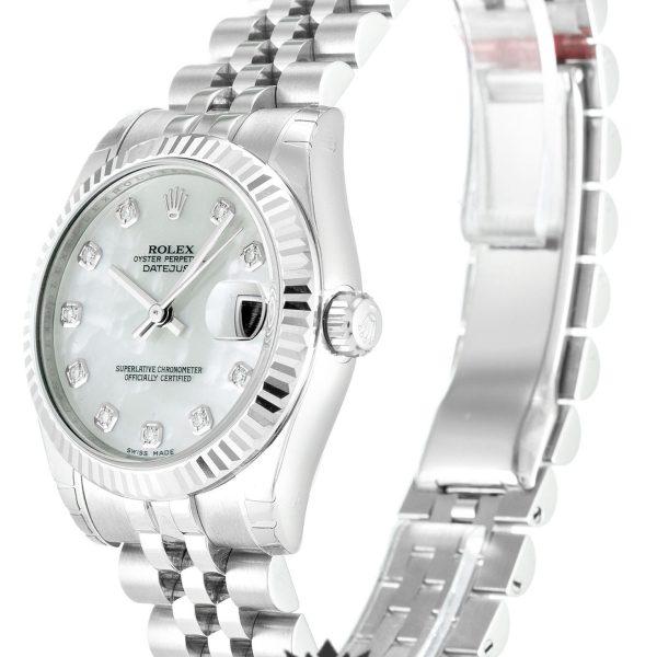 Rolex Datejust Replica 178274 Silver Strap 31MM