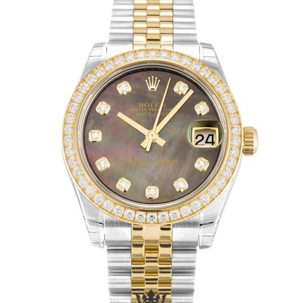 Rolex Datejust Replica 178383 Diamonds Bezel 31MM