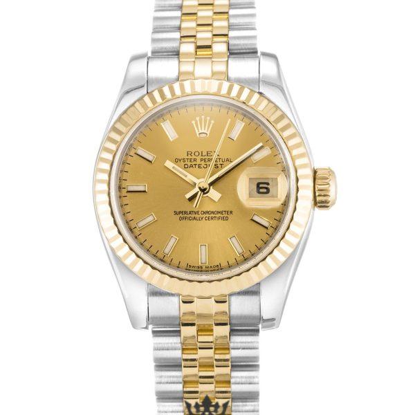 Rolex Datejust Replica 179173 005 Yellow Gold Bezel 26MM